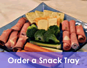 Order A Snack Tray